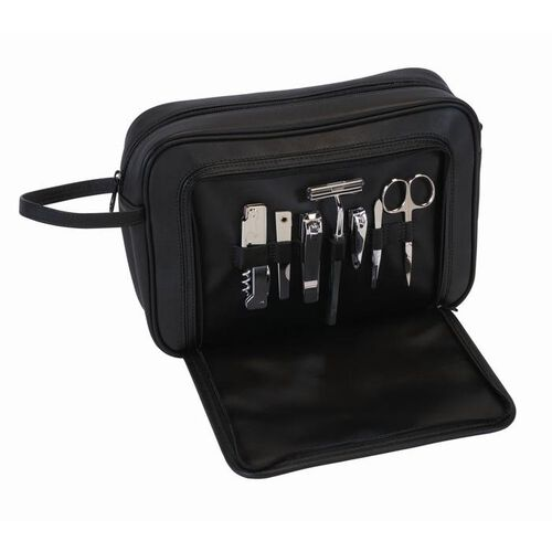 Personalized Royce Leather Toiletry Combo Grooming Set